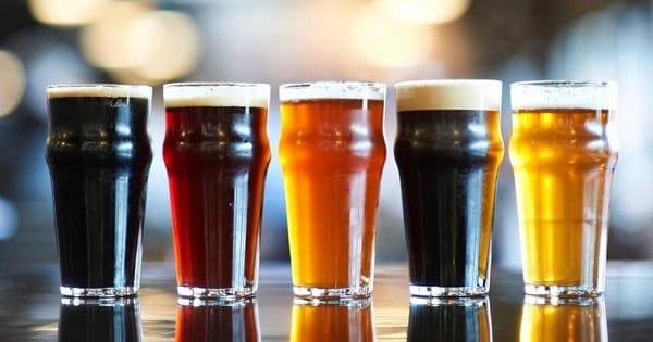 Colores en la cerveza