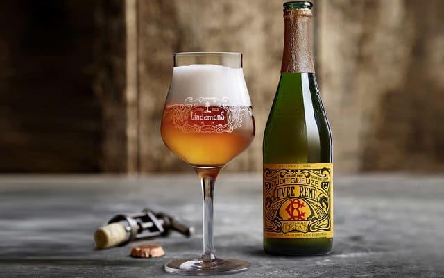 cervezas belgas: Lindemans Gueuze Cuvee René