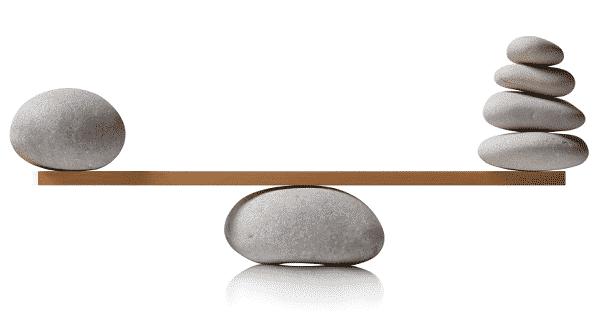 Indice de equilibrio BU GU