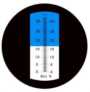 Escala de grados Brix